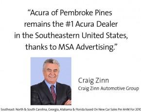 Craig Zinn - Acura